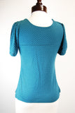 The Stella Blouse - Teal