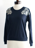 The Natasha Sweatshirt - Blue