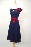 Stop Staring Airliner Vintage Swing Dress