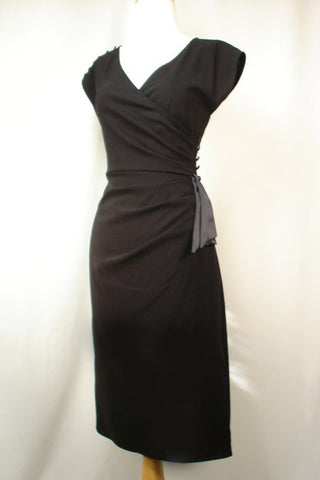 The Stop Staring 1940's Couture Dress