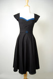 Stop Staring Clothing Retro Dress Noir