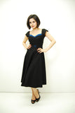 The Stop Staring Film Noir Swing Dress