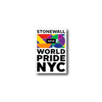 WorldPride NYC Stonewall 50 2019 Enamel Pin
