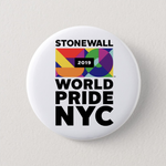 WorldPride NYC Stonewall 50 2019 Button