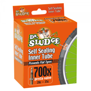 Self Sealing Dr Sludge 700x28-35c Inner Tube Presta