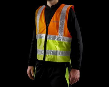 ProViz Hi Viz Reflective Cycling Vest with Zip