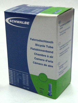 "Schwalbe 24x1 3/8"" Wheelchair Inner Tube Car Valve"