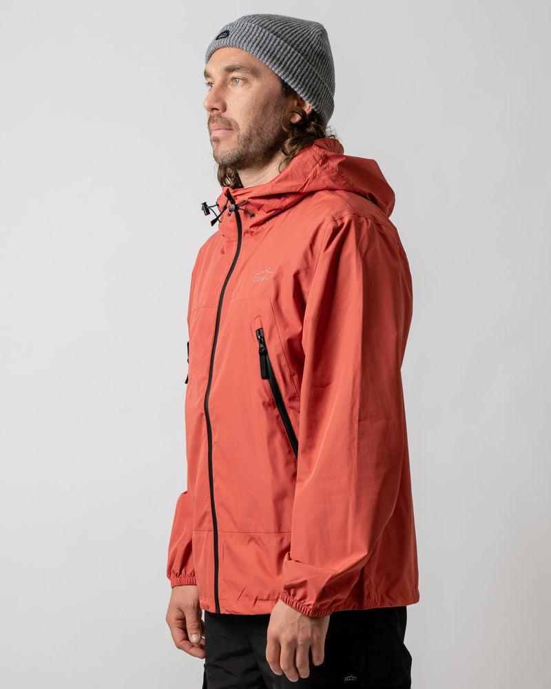 2.5L Recycled Rain Jacket Redwood Outerwear Zorali