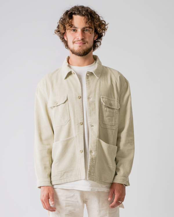 Organic Camp Jacket Oat