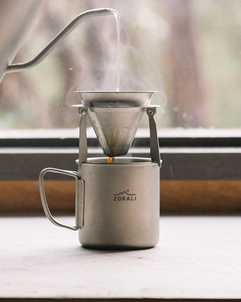 Camp Coffee Drip Coffee & Cookware Zorali