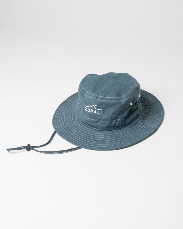 Hemp Explorer Hat Dark Slate Headwear Zorali