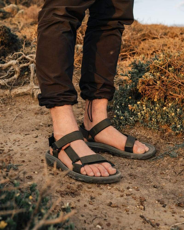 Highlands Sandals Olive Footwear Zorali