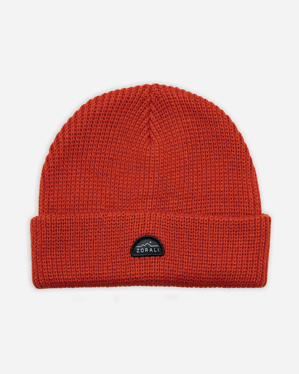 Merino Beanie Burnt Red Accessories Zorali