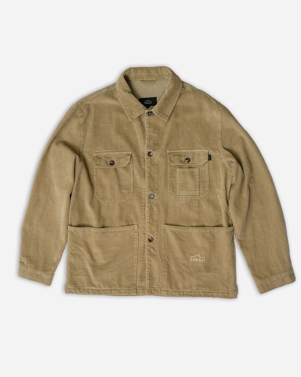 Organic Camp Jacket Taupe Jackets Zorali