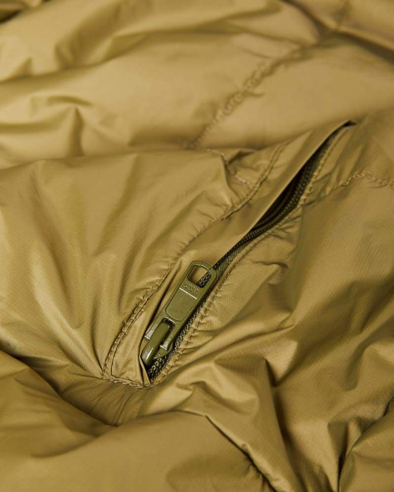 Primaloft® Sleeping Bag Olive Sleep Gear Zorali