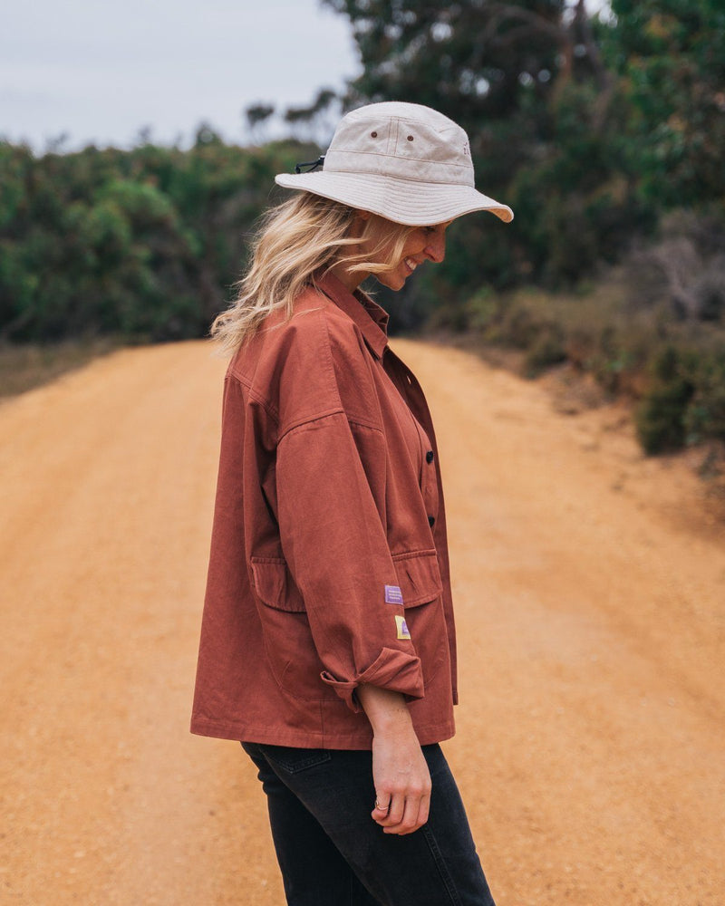 Womens Organic Camp Jacket Tops Zorali