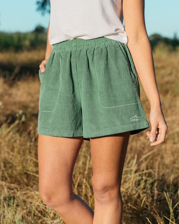 Womens Organic Cord Shorts Bottoms Zorali