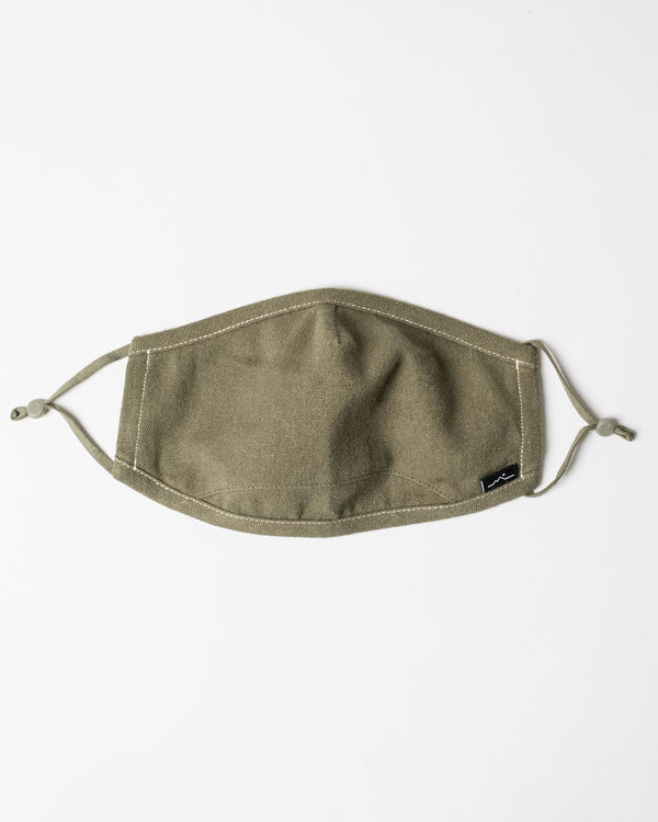 Zorali Hemp Organic Cotton Mask Olive Zorali