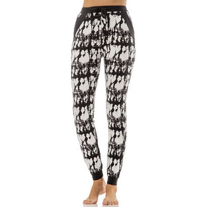 Printed Joggers - Extended Sizes | Womens