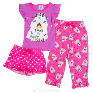 3-Piece Pajamas Set | Girls
