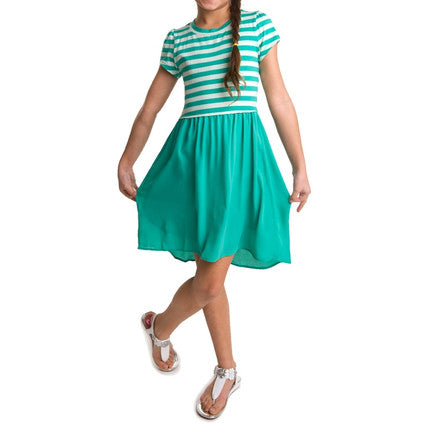 Striped Dress | Girls