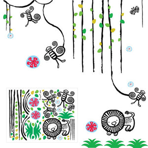 Jungle Wall Graphics | Kids
