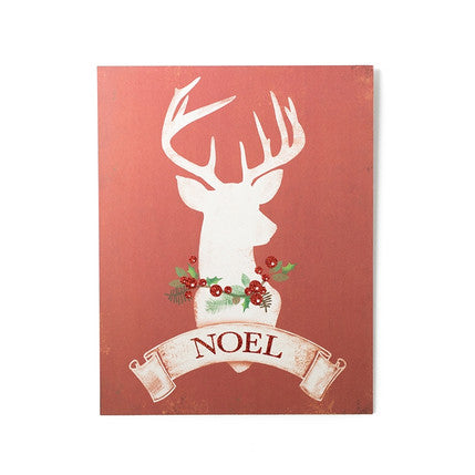 Holiday Stag Standing Art