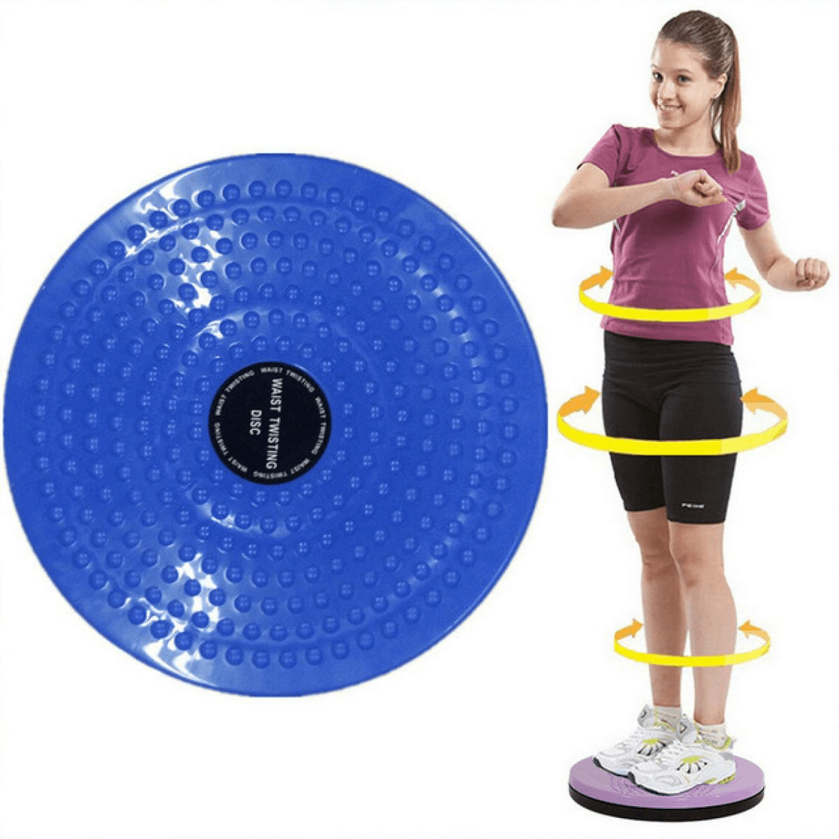 Twisting Disc for Waist Exercise