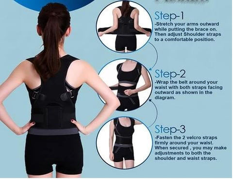 Magnetic Posture Corrector Back Brace Reviews