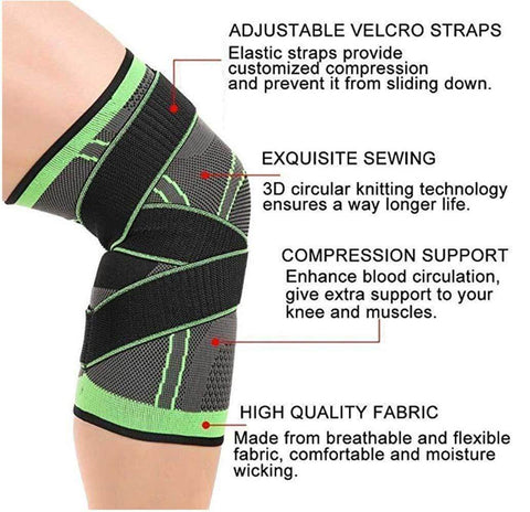 Best Knee Support Compression Sleeve