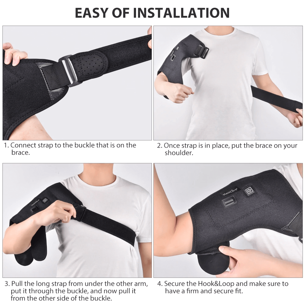 How To Use Shoulder Therapy Wrap