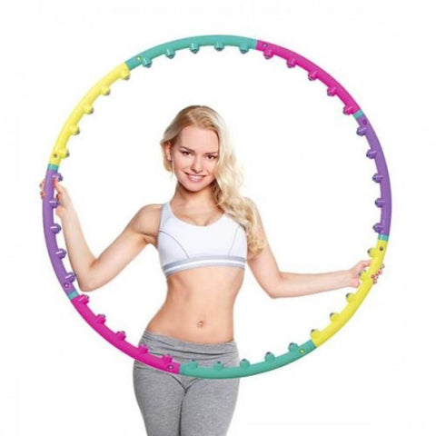 Hula Hoops With Magnetic Massaging Balls