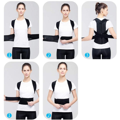 How To Use Full Back Posture Corrector Support Belt