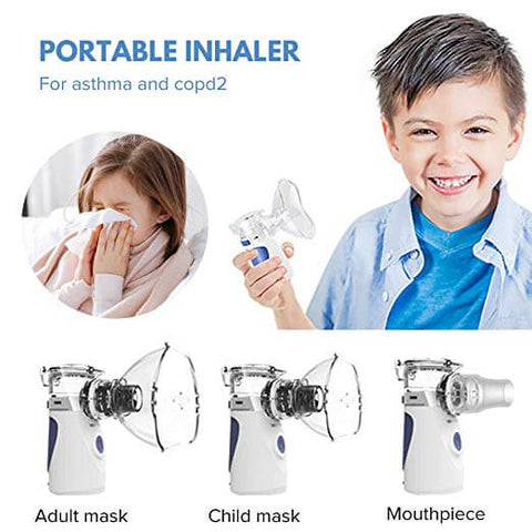 USB Rechargeable Mesh Nebulizer Humidifier
