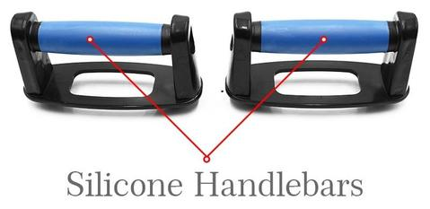 Push Up Board 9 Silicone Handlebars