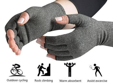 1 Pair Arthritis Relief Gloves Cotton Elastic Hand Arthritis Joint