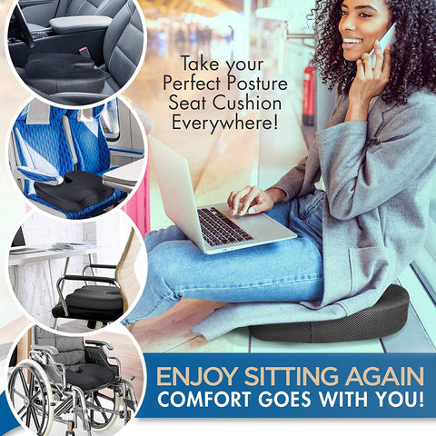 Ventilated Orthopedic Lumbar Cushion