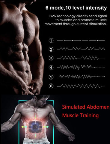Abdominal Muscle Training Stimulator
