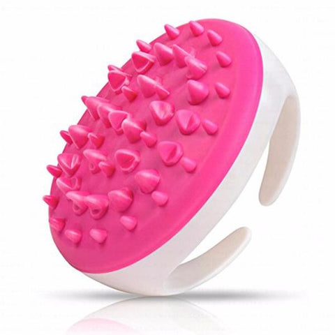 Buy Soft Handheld Bath Shower Body Anti Cellulite Massager Brush Glove