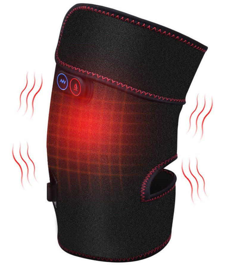 Heated Knee Pad Massage