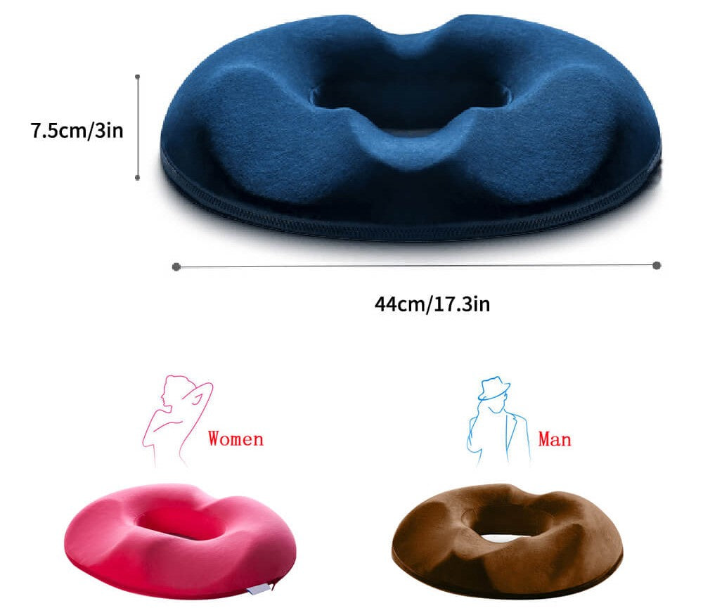 How does a hemorrhoid pillow work