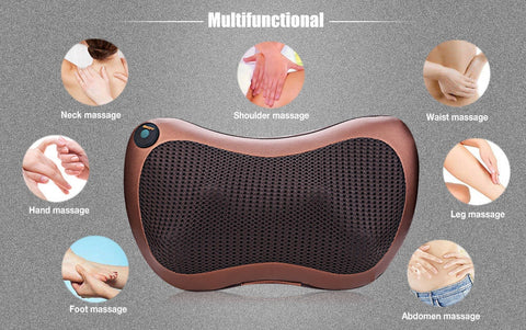 8 Heads Rotating Massage Pillow