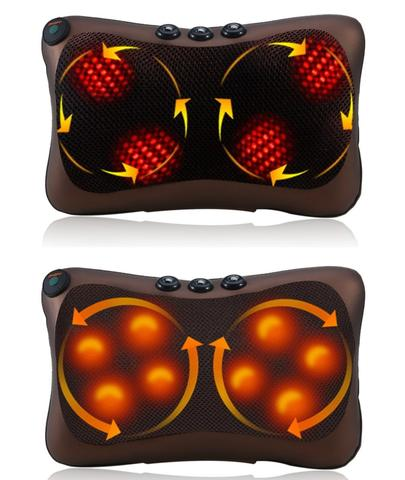 Back, Neck & Foot Massager Pillows