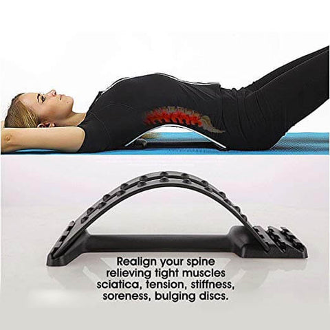 Lumbar Support Back Stretcher Device