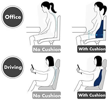 What is the best seat cushion for lower back pain