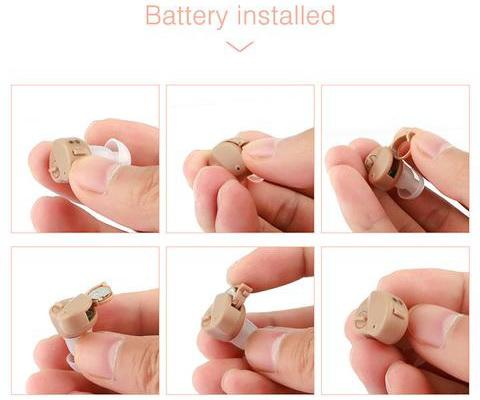 CIC Hearing Aids Mini Sound Amplifier
