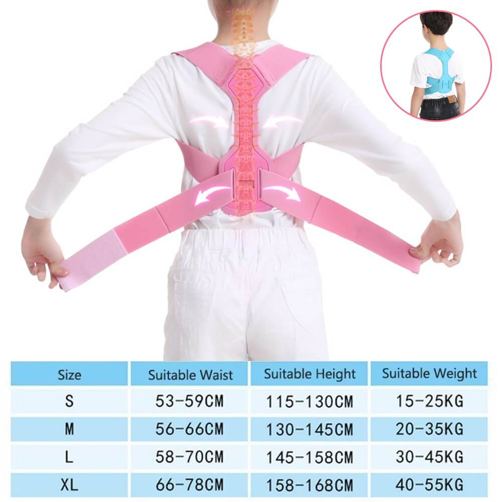 Posture Trainer For Kids | Humpback Correction Belt Size