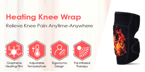 Hot Therapy Compress to Warm Joint Relief Pain of Knee Stiff, Arthritis, Strains, Fits Knee Calf Leg Arm