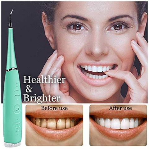Waterproof Portable Electric Sonic Dental Calculus Remover