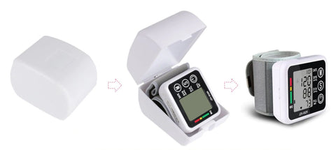 Shop Health Automatic Wrist Blood Pressure Monitor